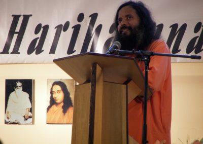 2006 Centenary Programm in Hamburg  Feier zum 100.sten Geburtstag von Gurudev Paramahamsa Hariharananda hier: Paramahamsa Prajnanananda Giri