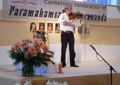 2006 Centenary Feier  Musikalische Begleitung durch u.a. Helmut Herzog