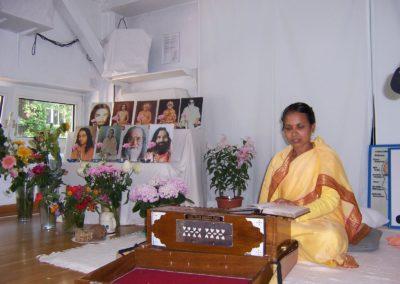 2010 in Hamburg Br. Dhyanamayee (jetzt Swami Gurusharanandaji)