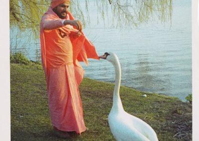 Dez 2005- Swami Shuddhananda Giri in Hamburg an der Alster